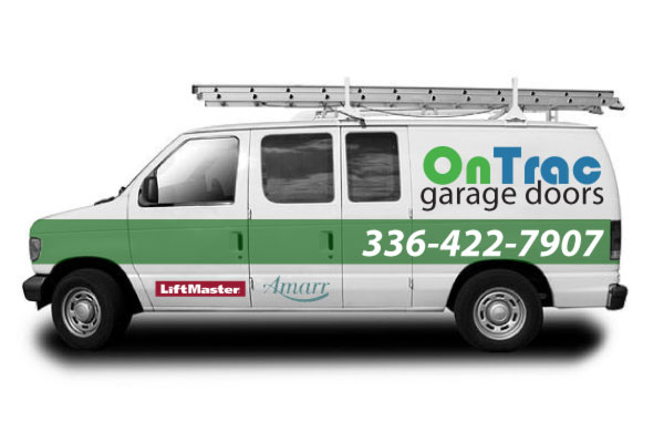 Burlington Garage Door Service Van