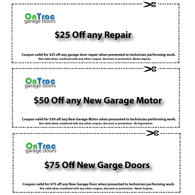 Elon Garage Door Service Coupon